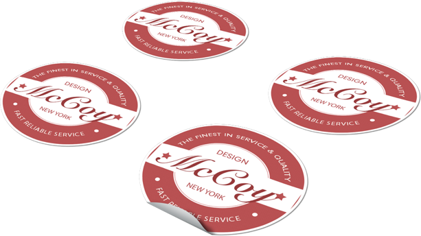 Printed stickers have been around for many years and growing numbers of customers see our trade stickers as a valuable part of their marketing mix