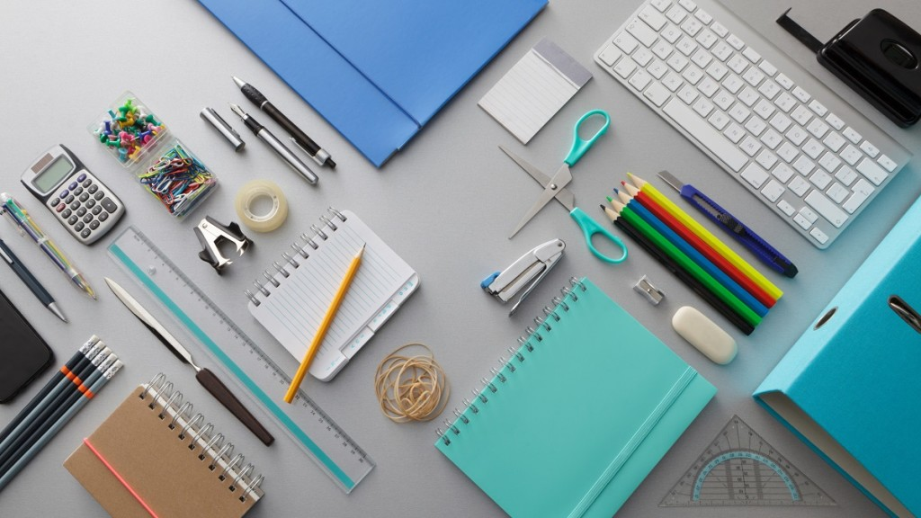 most popular stationery items